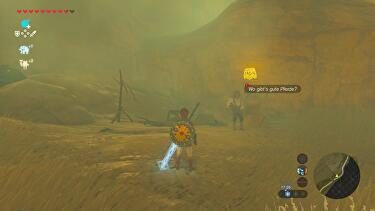 zelda breath of the wild baretta finden