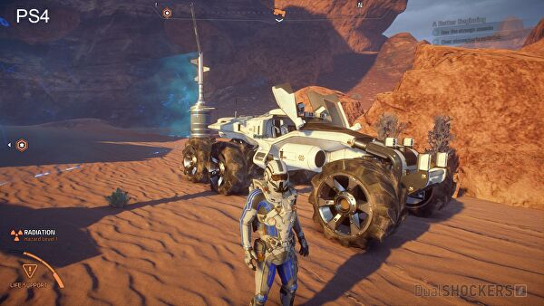 Mass Effect: Andromeda si mostra nel nuovo trailer 4K HDR