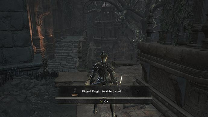 Dark Souls 3: Ringed City - Ringed City Streets, Dragon, and