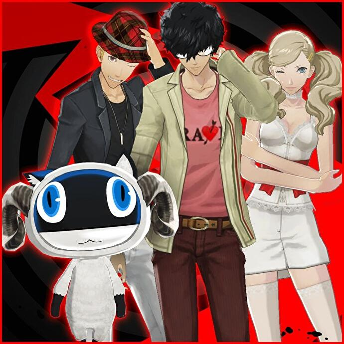 Persona 5 DLC schedule - Costume images, Picaro Sets