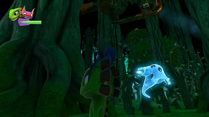 yooka laylee ghost writer locations where to find the red yellow