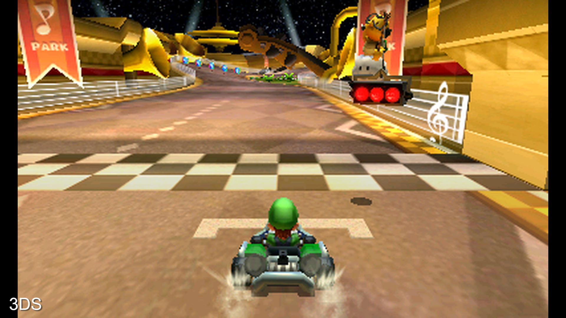 The six year gap between Mario Kart 7 and Mario Kart 8 Deluxe shows one of the most radical leaps in visual quality seen between two Nintendo handhelds.