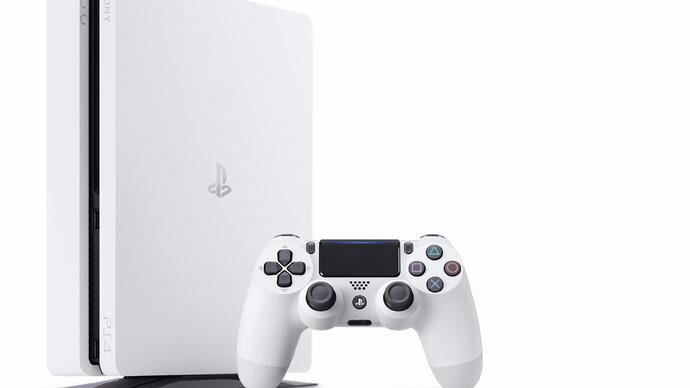 Glacier White PlayStation 4 slim model announced, released this month