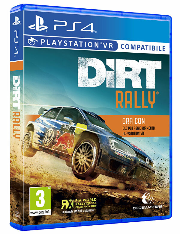dirt rally in arrivo su playstation vr. Black Bedroom Furniture Sets. Home Design Ideas