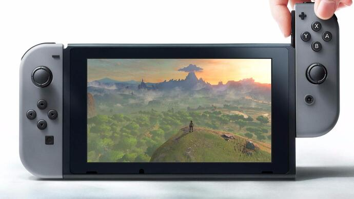 Nintendo Switch battery life detailed, capacitive touchscreen confirmed