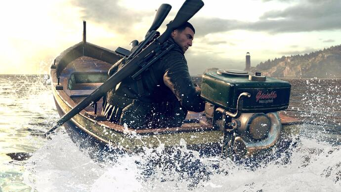 30 minutes of gameplay from Sniper Elite 4's opening level, San Celini