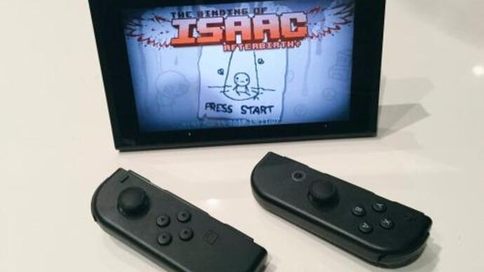 The Binding of Isaac: Afterbirth+ will be a Switch launch title in North America