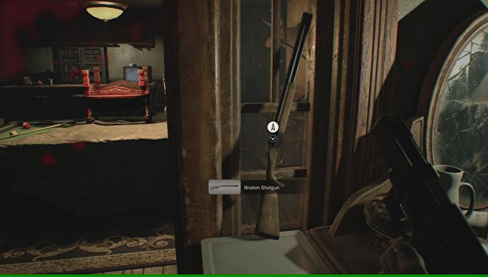 Resident Evil 7 - How to get the Shotgun, and turn the