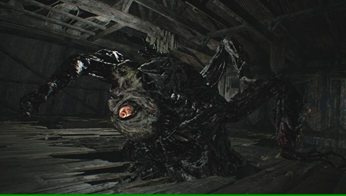 Resident Evil 7 - Mutated Jack boss fight, Boat House and