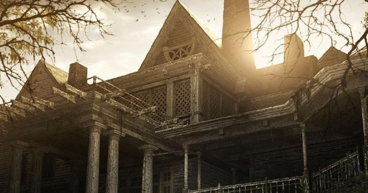Resident evil 7 yard old house explored where to find for Classic house walkthrough