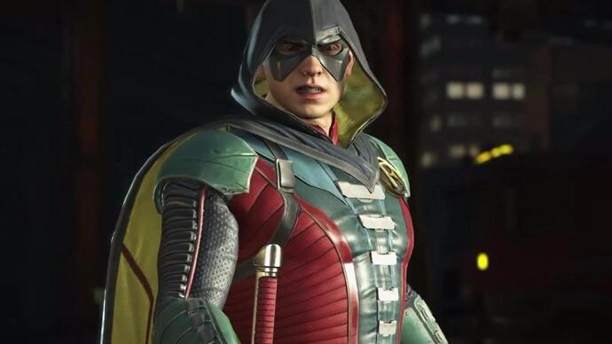 Robin tells Batman to do one in Injustice 2 gameplay