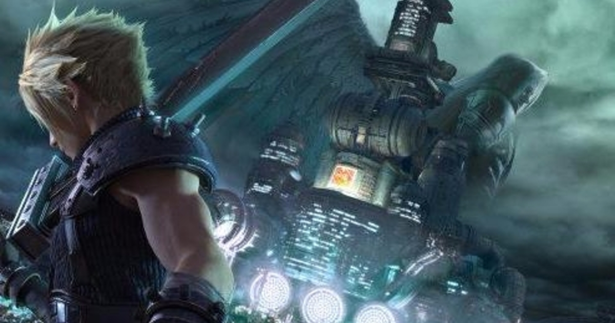 At Least We Have Art For The Final Fantasy 7 Remake