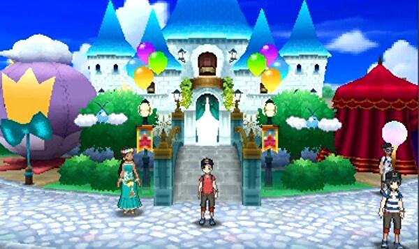 Pokémon Sun and Moon - Festival Plaza, how to trade, use GTS, and