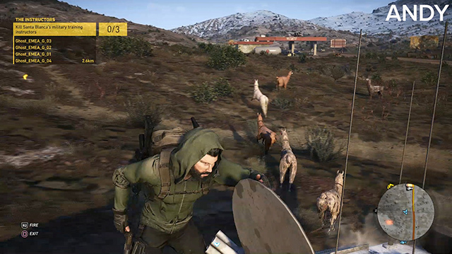 We Herd Llamas in Ghost Recon Wildlands Co-op Gameplay