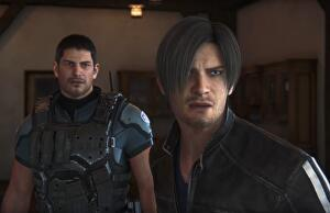 Resident Evils Leon And Chris Reunite For Cgi Movie Prequel To Resi