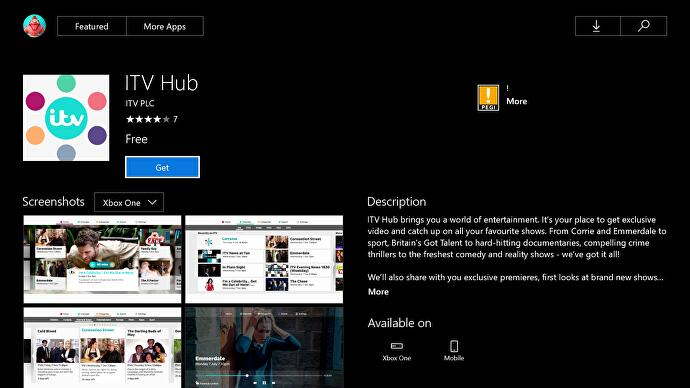 ITV Hub catchup service finally available on Xbox One
