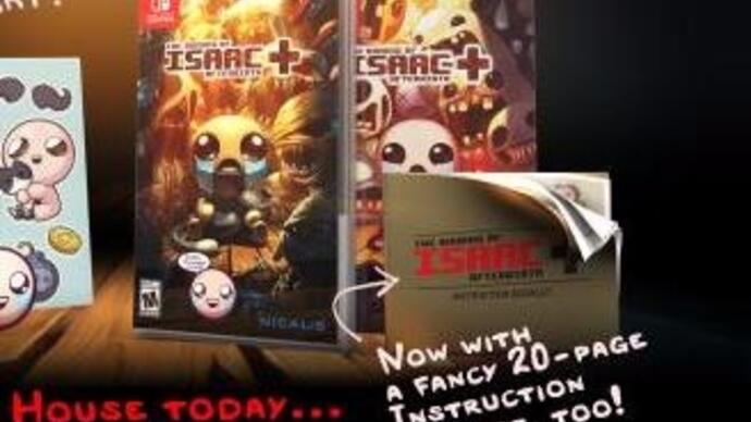 The Binding of Isaac: Afterbirth+ will no longer be a Switch launch title
