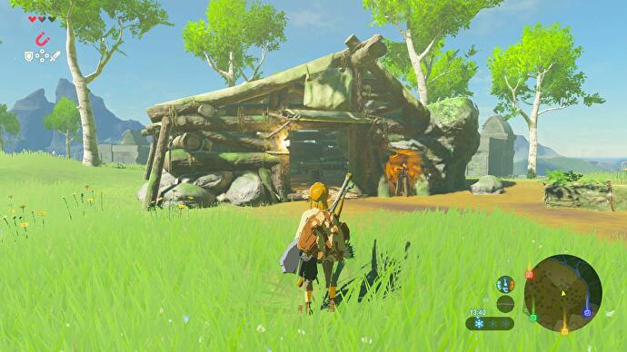 Zelda Breath Of The Wild Getting Cold Resistance Early With Warm