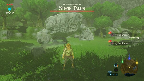 breath of the wild how to kill talus