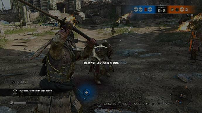 Matchmaking not working for honor