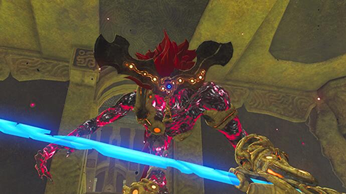 Zelda Breath Of The Wild Waterblight Ganon Boss Fight