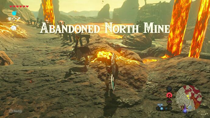 Zelda Breath Of The Wild Abandoned North Mine How To Use The