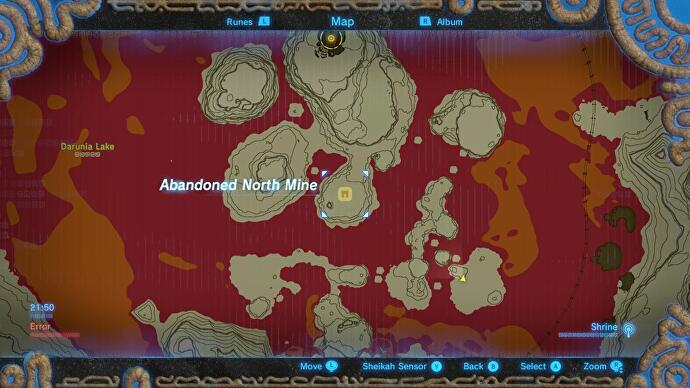 abandoned north mine zelda