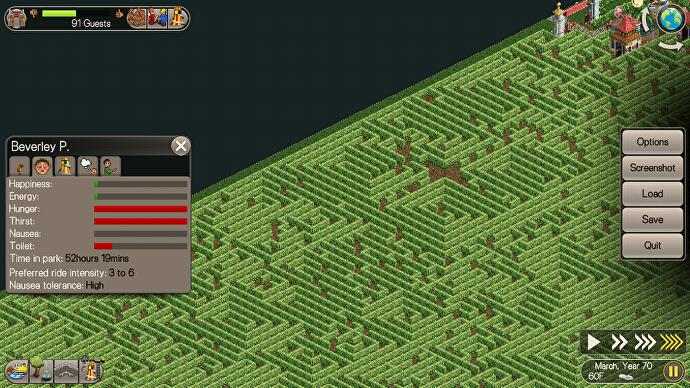 Inside the cruellest RollerCoaster Tycoon park ever created