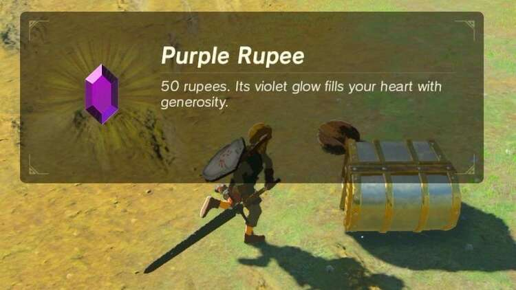 Zelda Breath Of The Wild Rupees How To Get Easy Rupees And Quick Rupee Farming Spots Eurogamer Net