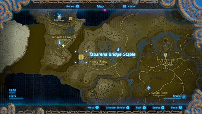 Zelda Breath Of The Wild Rito Village Tabantha Tower How To