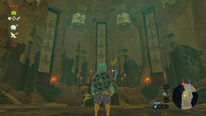 Zelda: Breath of the Wild - Yiga Valley Hideout in Karusa