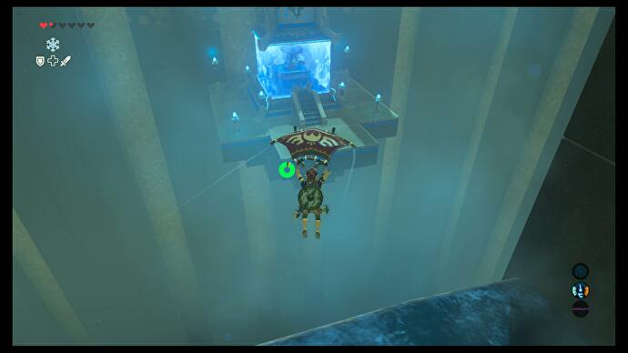 Zelda - Kaya Wan and Shields From Water trial solution in Breath of