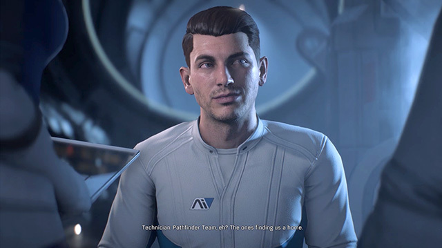 Scott Ryder is a Space Jerk in Mass Effect Andromeda Gameplay