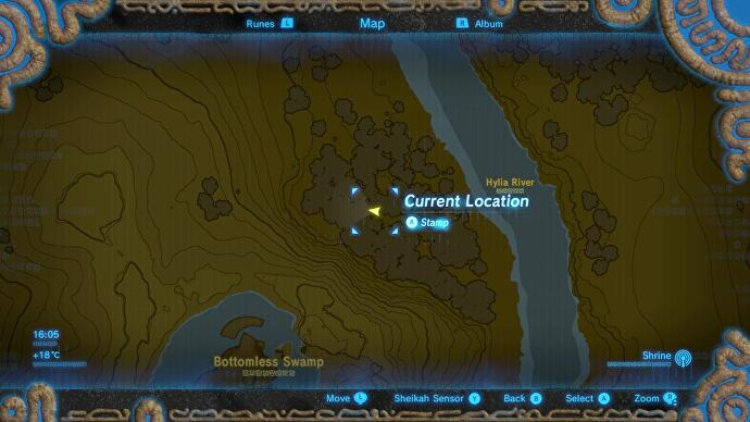 Zelda: Breath of the Wild - Captured Memories locations and
