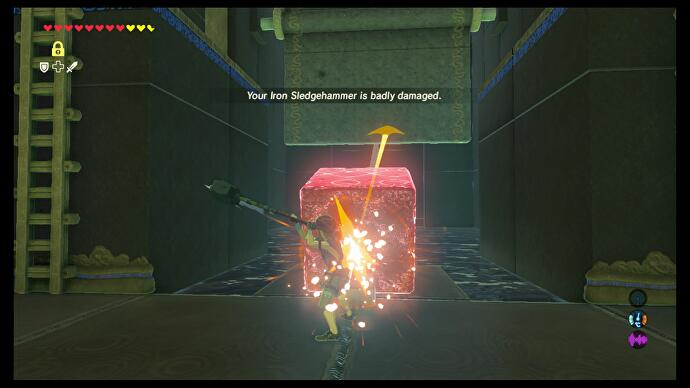 Zelda - Mirro Shaz and Tempered Power trial solution in Breath of
