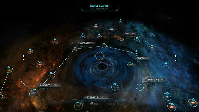 Mass Effect Andromeda Star Map.Mass Effect Andromeda Walkthrough Guide And Tips To Exploring The