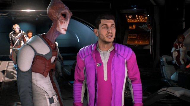 Jerk Ryder Gets a Spaceship in Mass Effect Andromeda Gameplay