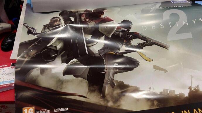 Leaked Destiny 2 poster reveals September release date