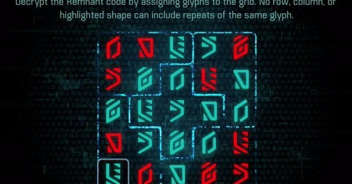 Mass Effect Andromeda - Remnant Decryption puzzle solutions, all Monolith and Vault solutions