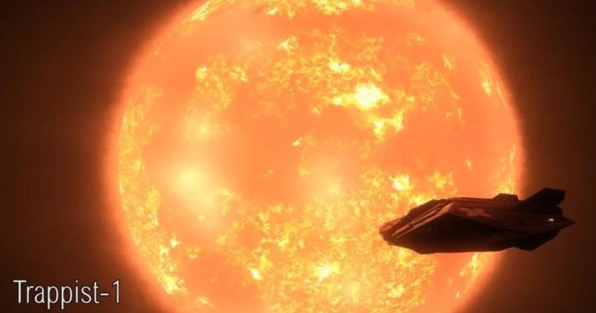You can now visit Trappist-1 in Elite Dangerous