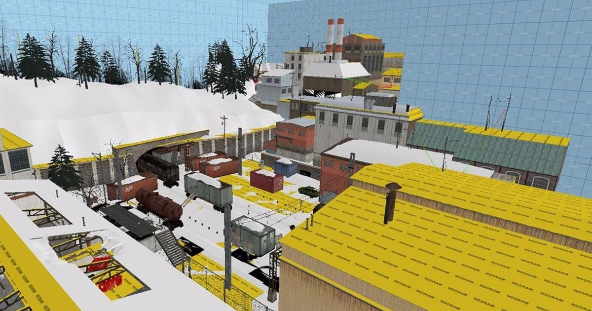 Images of Junction Point's cancelled Half-Life 2 episode reveal a snowy Ravenholm