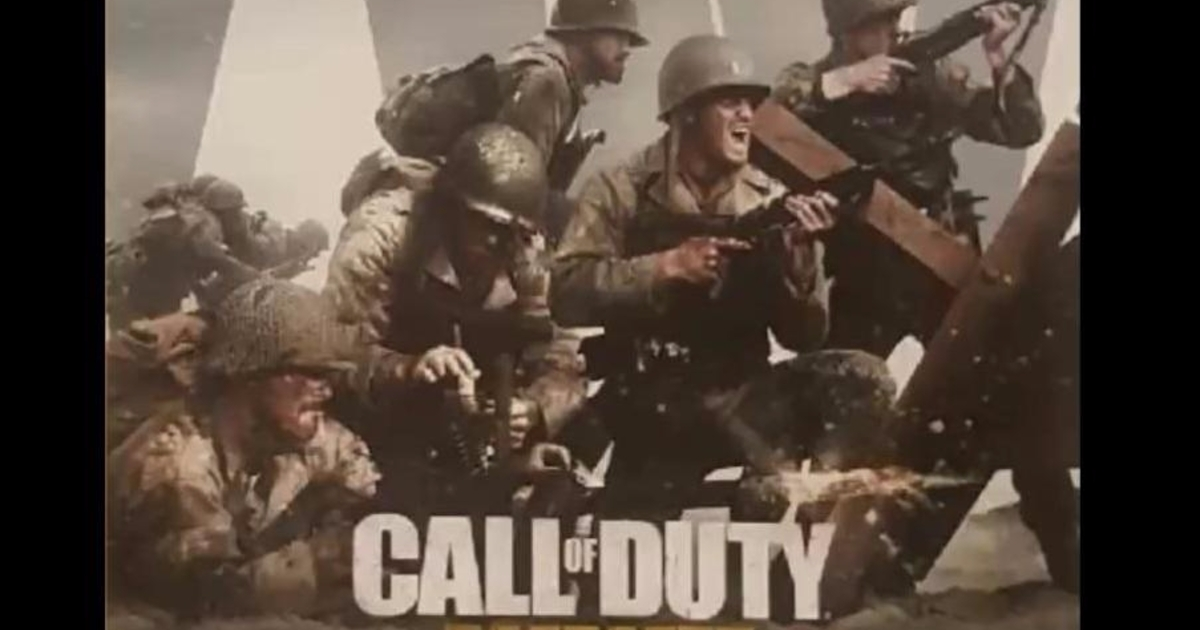 Sources: This year's COD is called Call of Duty: WW2
