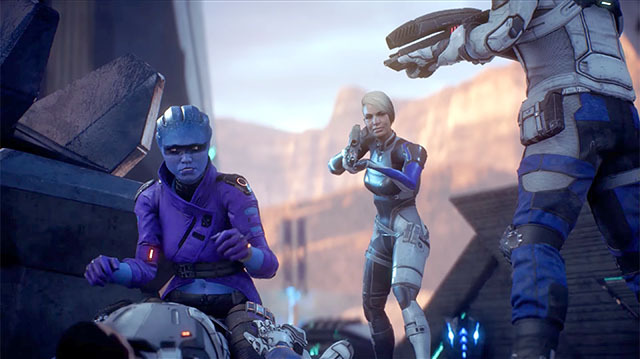 Ryder Gets New Ride in Mass Effect Andromeda Gameplay