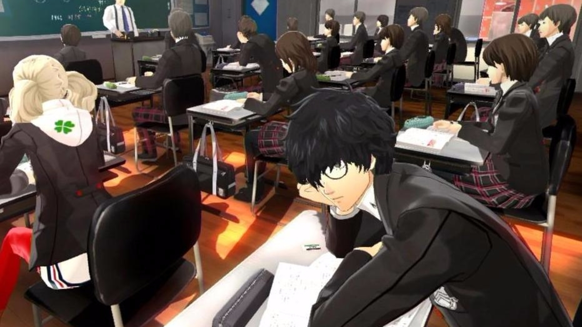 Persona 5 Test Answers How To Ace School Exam And Class Quiz