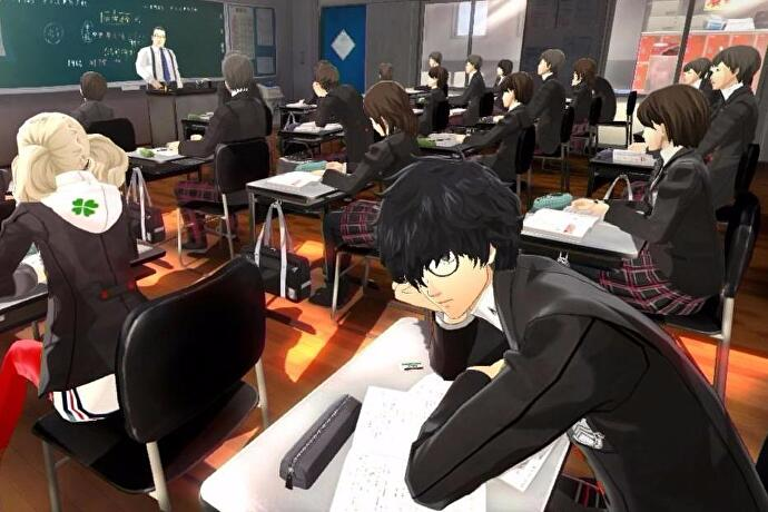 Persona 5 test answers - How to ace school exam and class