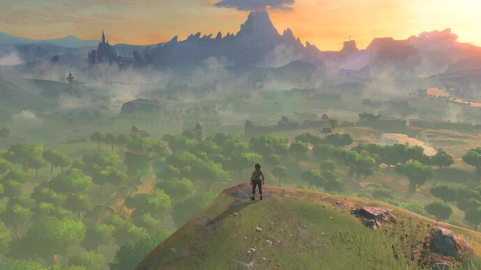Il Digital Foundry analizza il frame-rate migliorato di Zelda Breath of the Wild con la patch 1.1.1