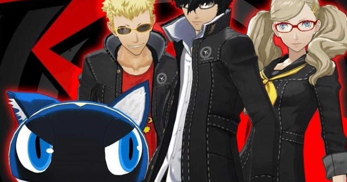 Persona 5 DLC schedule - Costume images, Picaro Sets, Japanese voices and when all free DLC will release