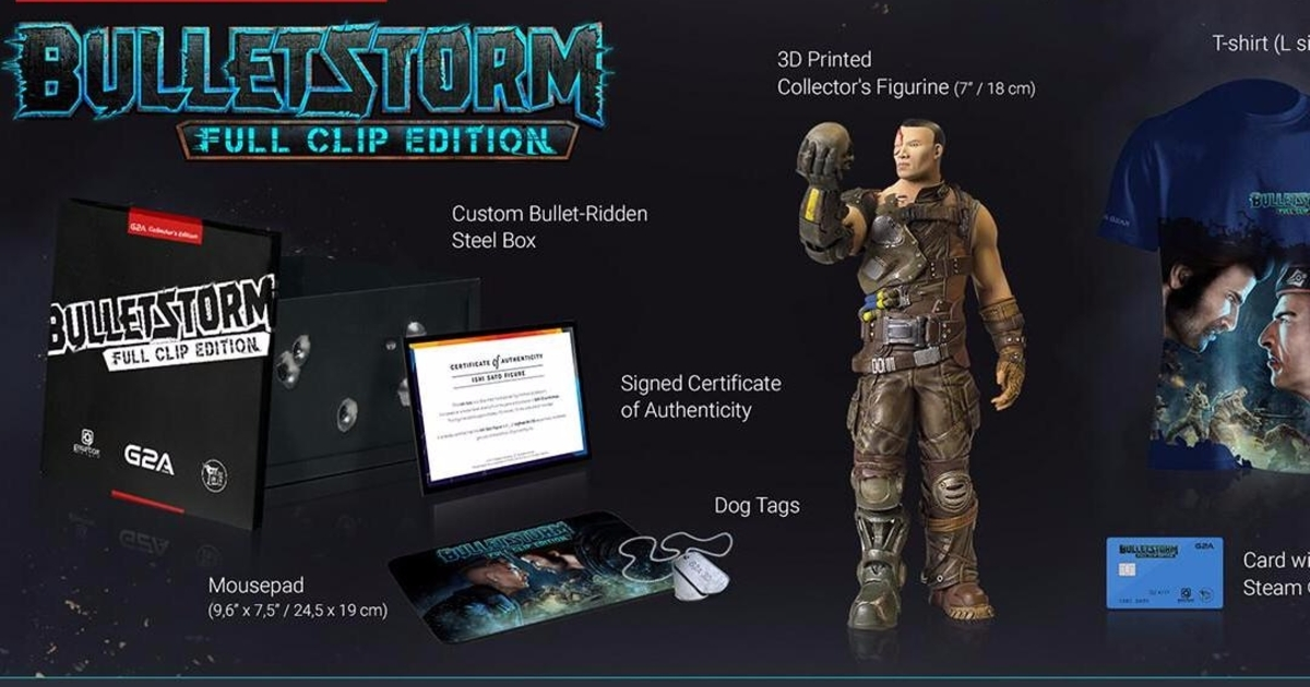 Gearbox partners with controversial game key reseller G2A for Bulletstorm: Full Clip Edition bundle