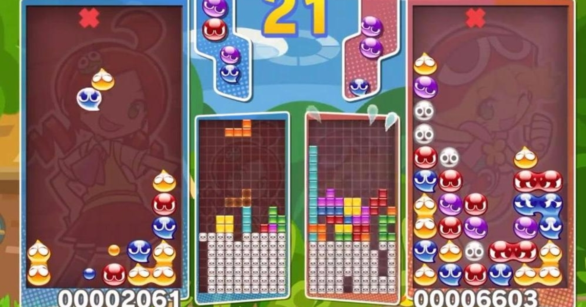Sega cracks down on Puyo Puyo Tetris streams