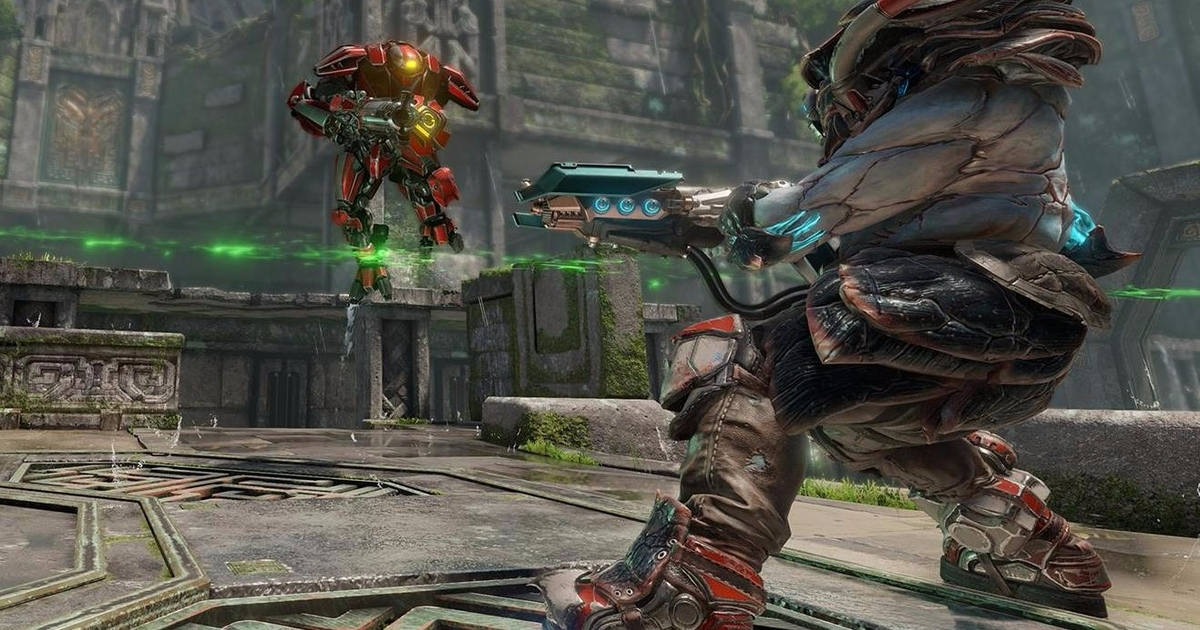 Watch two minutes of uninterrupted Quake Champions gameplay